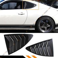 Fit 13-17 Scion FR-S/Subaru BRZ 1/4 Quarter Panel Side Vent Window Louver Covers