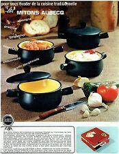 PUBLICITE ADVERTISING 115  1965  les mitons AUBECQ