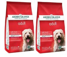 Arden Grange Adult Chicken & Rice Hypoallergenic Dog Food 2 x 12Kg (24kg)