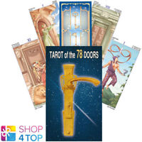 TAROT OF THE 78 DOORS DECK KARTEN PLATANO ESOTERIC FORTUNE LO SCARABEO NEU