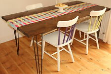 6ft Upcycled Scaffolding board Table Vintage, handmade