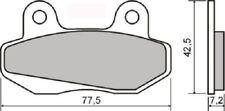plaquettes de frein avant SHERCOSupermotard 50cc (2T) 2004 2005 RMS 225102590