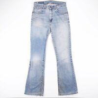 Vintage LEVI'S 525 89 Regular Bootcut Fit Men's Blue Jeans W31 L34