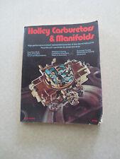Holley carburetors - guide selection installation & repair - HP car manual -