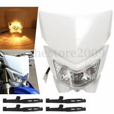 Motorcycle Headlight Fairing Enduro Cross Dual Sport Dirtbike Street Fighter New