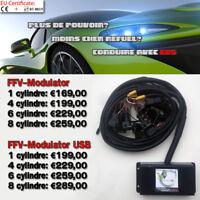 E85 bioethanol conversion - FLEX FUEL TUNING KIT -  FFV Modulator USB 4cylindres