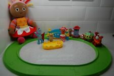 in the night garden ninky nonk train + Track + Figures Bundle & large Upsy Daisy