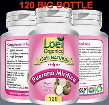 120 PILL BOTTLE 100% STRONG PUERARIA MIRIFICA BREAST ENLARGEMENT Discreet Post
