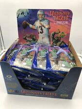 1996 Upper Deck Football Halloween Card Packs Full 24ct Case 480 Packs $.03/Pack