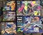 KENNER ALIENS PLAYSET COLLECTION (5) QUEEN HIVE, EVAC FIGHTER, HOVERTREAD ETC