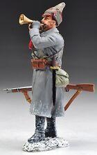 THOMAS GUNN WW2 RUSSIAN SOV005B BUGLER WITH BUDENOVKA HAT WINTER MIB