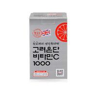 60 Tablets x 1,000mg KOREA EUNDAN VITAMIN C 1000 UK Health Suplement_ar