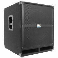 "SEISMIC AUDIO 18"" PA POWERED SUBWOOFER Speaker Active"