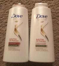 Dove Nutritive Solutions Shampoo and Conditioner Anti-Frizz Oil Therapy 20.4 oz