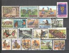 S6679 - ZAMBIA 1981 - LOTTO TEMATICI DIFFERENTI DEL PERIODO - VEDI FOTO