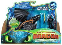 Licensed DreamWorks How to Train Your Dragon - HICCUP & TOOTHLESS Action Figures