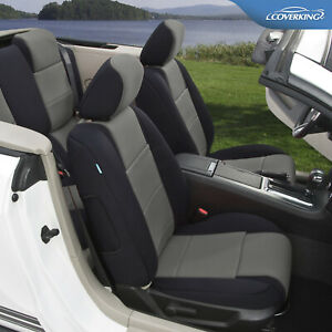 Neosupreme Front & Rear Tailored Seat Covers for Ford Mustang - Made to Order