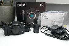 Fujifilm X-T1 16MP Digital SLR Camera - Black (Body Only) w/ Flash