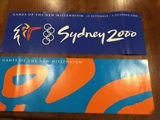 "Collectable OLYMPIC Sydney 2000 ""The best games ever!"" Paper Banners BRAND NEW"