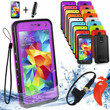 Unbranded/Generic Waterproof Mobile Phone Cases, Covers & Skins for Samsung Galaxy S5