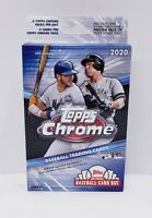 2020 Topps Chrome Baseball Hanger Box Brand New Factory Sealed