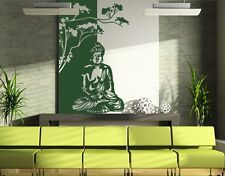 Buddha Zen Meditation  - highest quality wall decal stickers