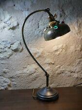 Lampe articulée Parisienne à cabochons, époque 1920 Art Nouveau, Art Déco.