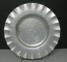 Vintage Trade Continental Hand Wrought Aluminum Round Bowl Dish #764