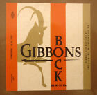 OLD USA BEER LABEL, LION BREWERY WILKES BARRE PENNSYLVANIA, GIBBONS BOCK