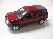 WELLY 1:38 SCALE 2001 LANDROVER FREELANDER DIECAST TRUCK MODEL PULLBACK W/O BOX