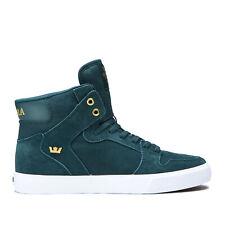 Supra Skateboard Shoes Vaider Evergeen/Gold