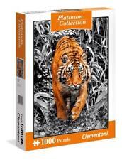 CLEMENTONI PLATINUM COLLECTION JIGSAW PUZZLE TIGER 1000 PCS #39429