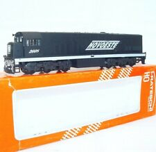 "Frateschi Brazil HO 1:87 ""BRASIL NOVOESTE"" Heavy U20C Diesel Locomotive MIB`85!"