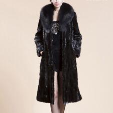 Womens Winter Warm Long Coat Jacket Faux Fur Plus Size Parka Outwear Cardigan