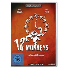 DVD Video 12 Monkeys Bruce Willis Brad Pit Terry Gilliam Science Fiction Drama