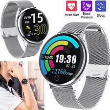 Sport Smart Watch Bluetooth Wristwatch Blood Pressure Heart Rate Fitness Tracker