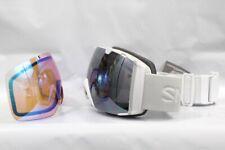 Smith I/O Snow Goggles IO White Vapor ChromaPop Sun Platinum Mirror New 2020