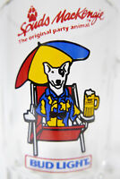 Budweiser Bud Light Spuds MacKenzie Original Party Animal Beer Mug Beach Bum