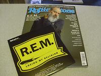 "Rolling Stone - NOVEMBER 2016 - Heft incl. CD & incl. R.E.M. 7"" Vinyl Single"