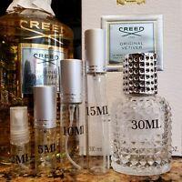 Creed Original Vetiver EDP Cologne 2ml 5ml 10ml 15ml 30ml samples bottles Fast