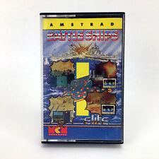 BATTLE NAVI - MCM SPAGNA LOMO BIANCO E BLU ELITE 1988 AMSTRAD CPC 464 CASSETTE