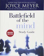 [New] Battlefield of the Mind: Study Guide Joyce Meyer