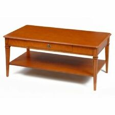 Teak Rectangle Coffee Tables with Shelves