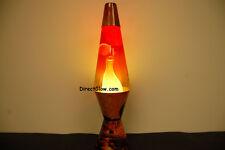 20oz Color Max Volcano Lava Brand Motion Lamp Clear Liquid w/White Lava