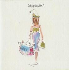 Shopaholic Daughter Wife Fiance Mum Special Friend Blank Birthday Card