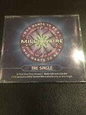 Who Wants to be a Millionaire The Single CD Is That Your Final Answer?