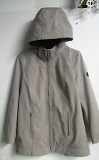 *NEW Andrew Marc Long Softshell 4 way stretch water repellent hooded Jacket L