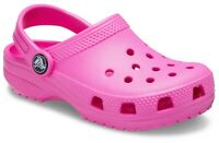 Crocs Kids Kids Classic Slip On Clog Electric Pink