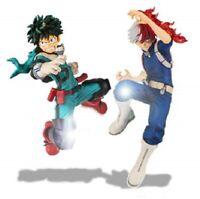 My Hero Academia THE AMAZING HEROES Midoriya Todoroki Shoto Set w/ Tracking NEW