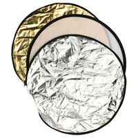 60cm 5-in-1 Photography Studio Multi Photo Disc Collapsible Light Reflector